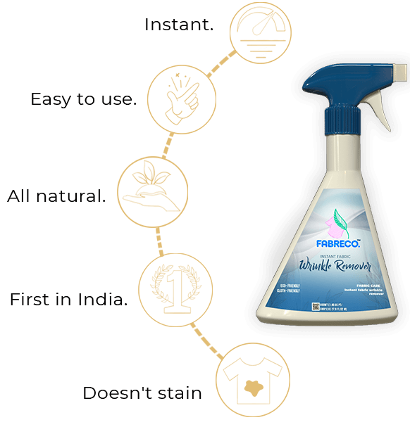 fabeco wrinkle remover spray
